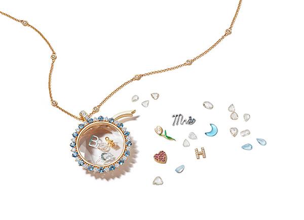 Loquet bridal miasol pendant