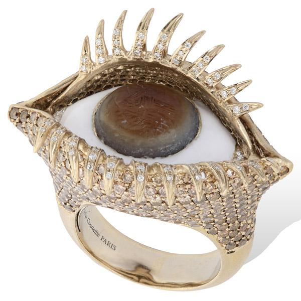 Lydia Courteille eye ring