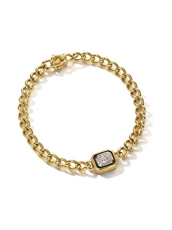 Nina Runsdorf curb link Bracelet