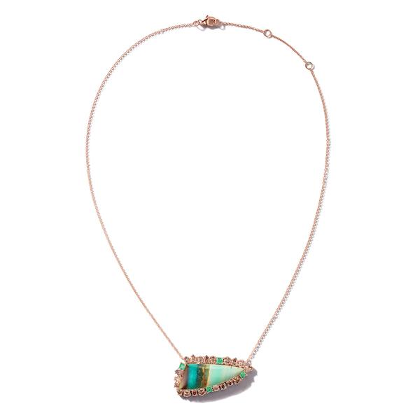 Nina Runsdorf opal necklace