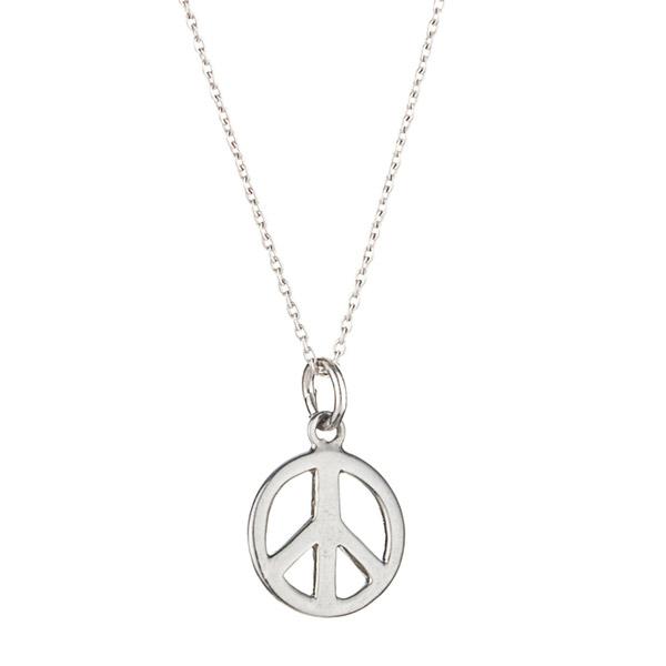Suka Jewelry peace sign necklace