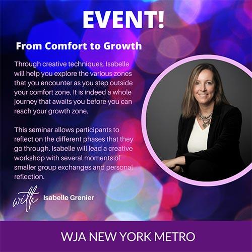 WJA comfort to growth