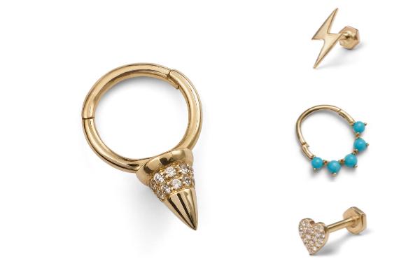 Wildlike single stud earrings