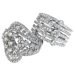 ALTR allure and glam lab grown rings