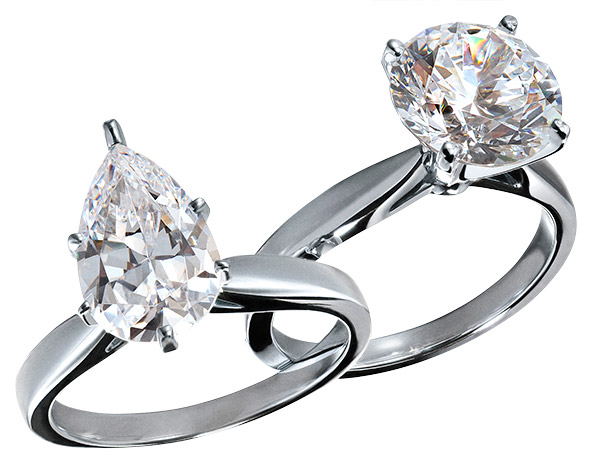 ALTR lab grown solitaire rings