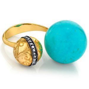 Arman Sarkisyan turquoise ring