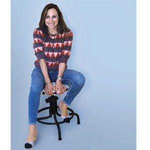 Ashleigh Bergman seated