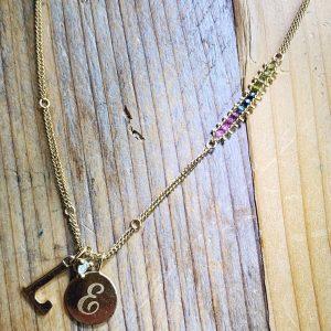 Britt charm necklace Amali