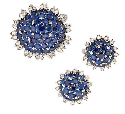 Cartier at Tiina Smith Saphhire and Diamond SuiteCartier at Tiina Smith Saphhire and Diamond Suite