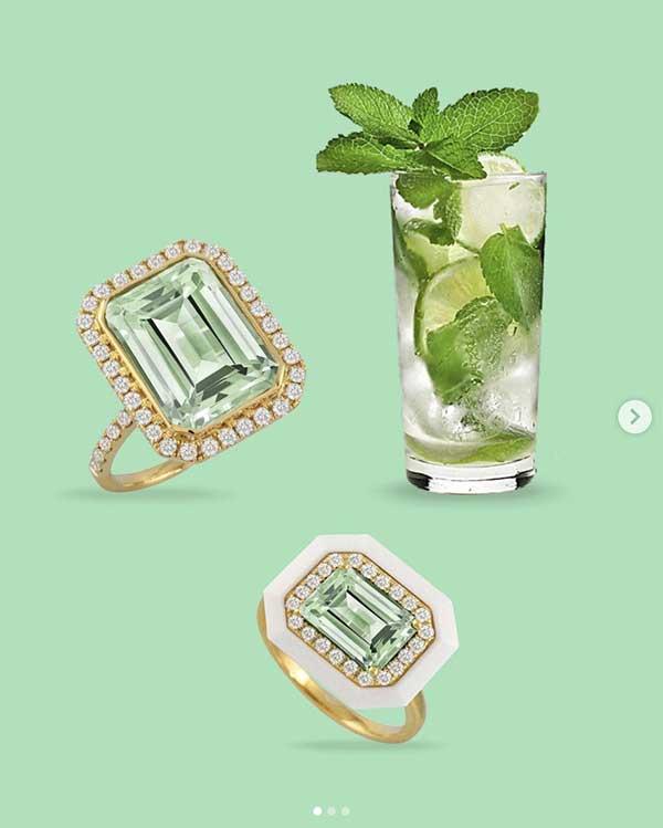Doves Mint Mojito rings