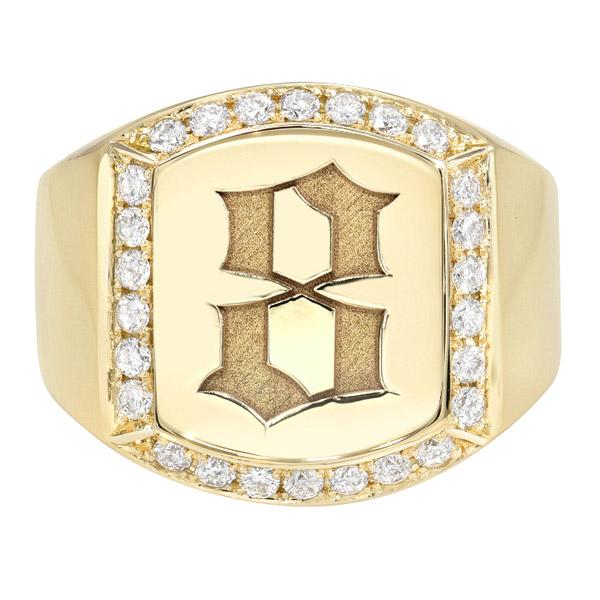Dru Jewelry number ring