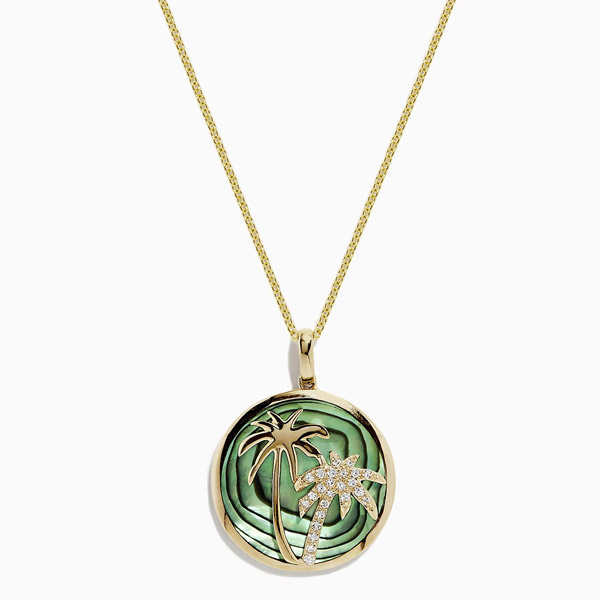 Effy palm tree necklace