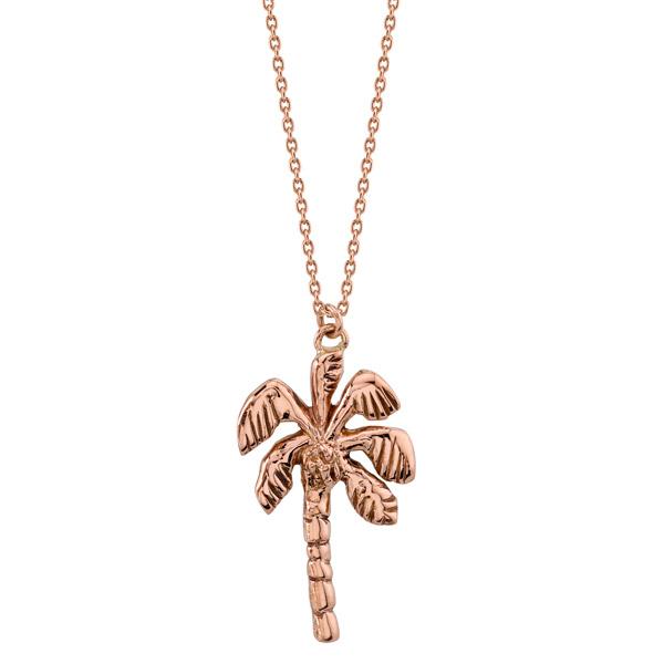 Kassandra Nicholson palm tree pendant
