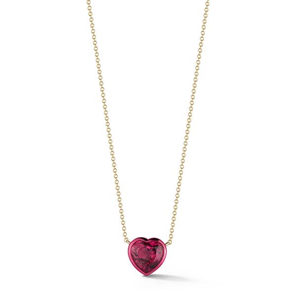 Katherine Jetter heart pendant
