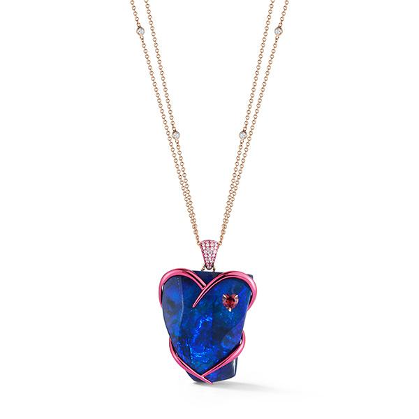 Katherine Jetter opal pendant
