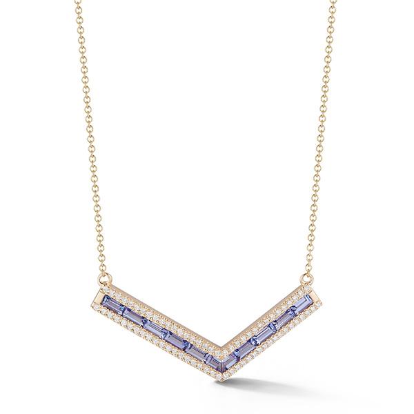 Katherine Jetter origami necklace