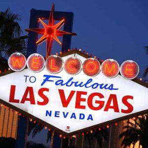 Las Vegas sign Sam Morris Las Vegas News Bureau