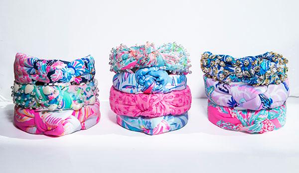 Lele x Lilly Pulitzer headbands