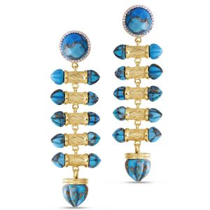 LuvMyJewelry Twisted Rays earrings