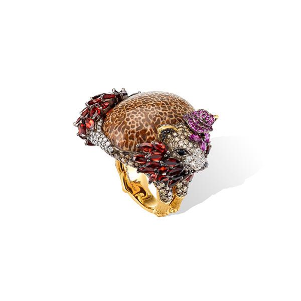 Lydia Courteille fox ring