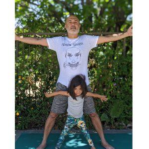 Niveet and daughter