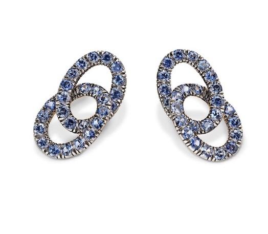 Pomellato at Tiina Smith Sapphire Tango Earrings