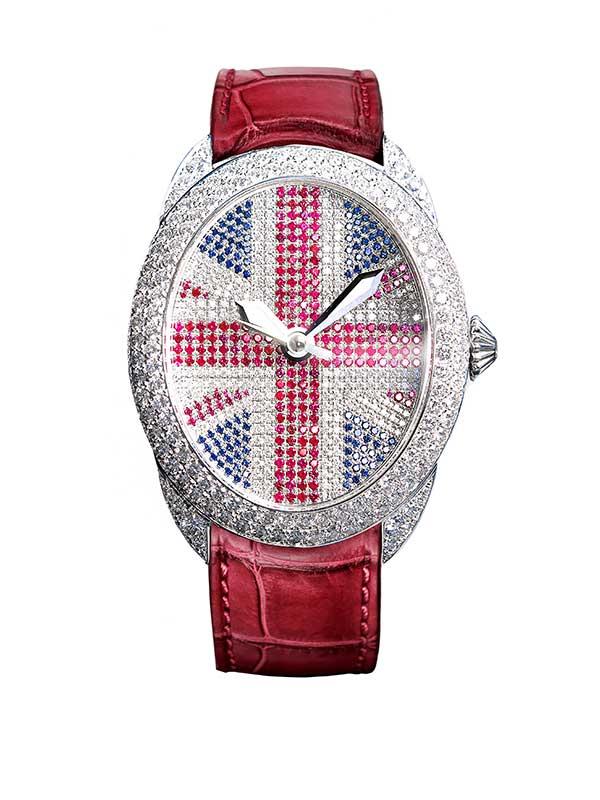 Regent John Bull Gemfields ruby watch
