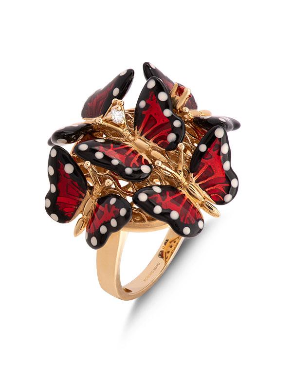 Roberto Bravo butterfly ring