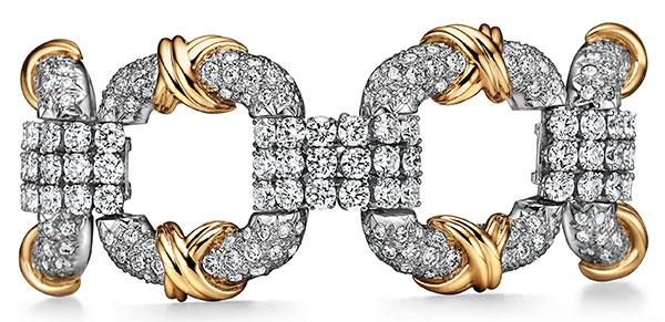 Schlumberger cooper bracelet