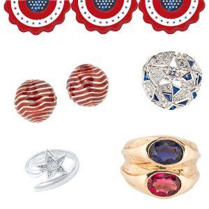 Tiina Smith Fourth of July jewels