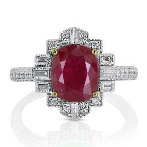 Yael ruby ring