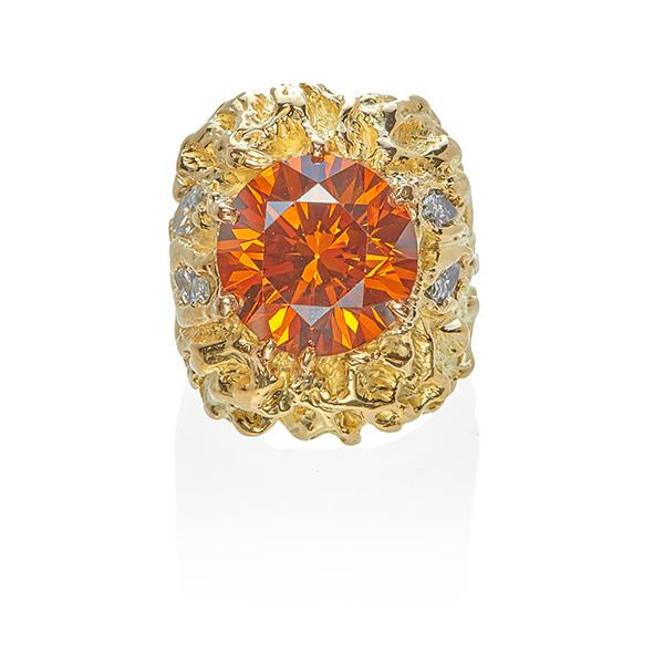 Sammy Davis Jr. diamond ring