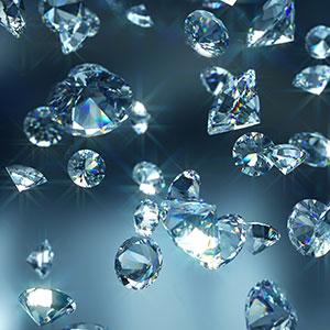 diamonds getty