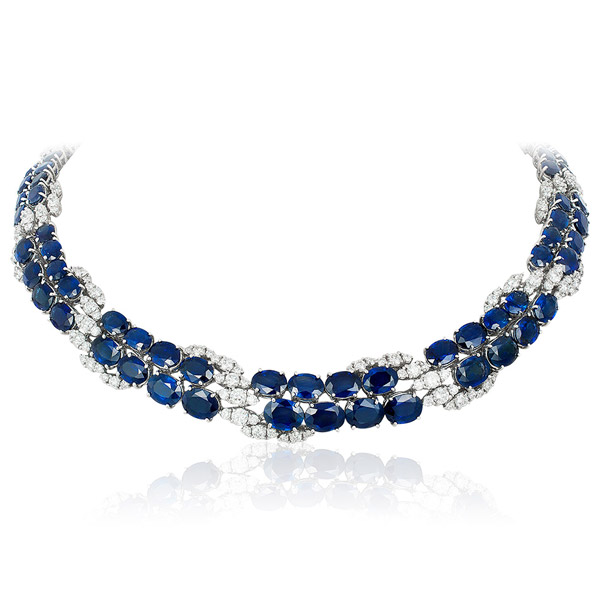 Andreoli sapphire necklace