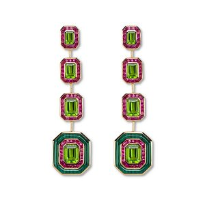 Annoushka x Fuli Gemstones long drop earrings