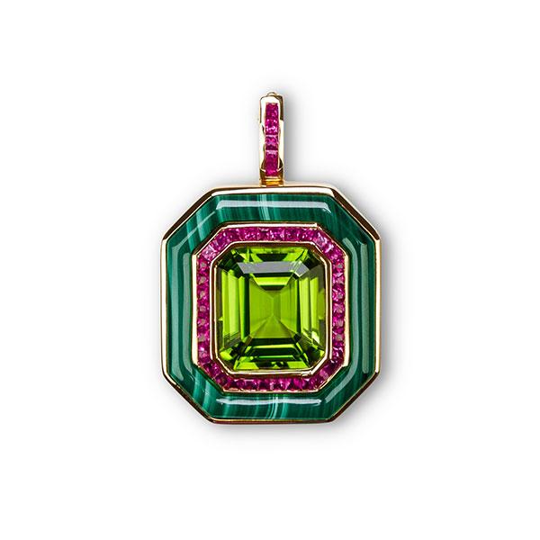 Annoushka x Fuli Gemstones single pendant