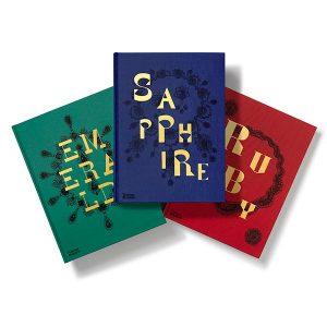 Emerald Sapphire Ruby books