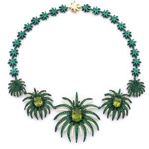 Faraone Mennella Firework peridot necklace