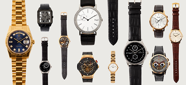High value watches