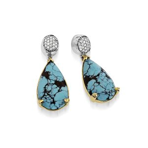 John Atencio turquoise earringsv