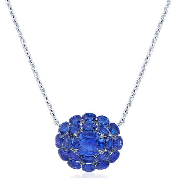 Kwiat sapphire necklace