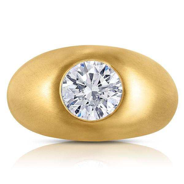 Lauren Addison diamond gypsy ring