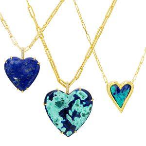 Lauren K heart pendants