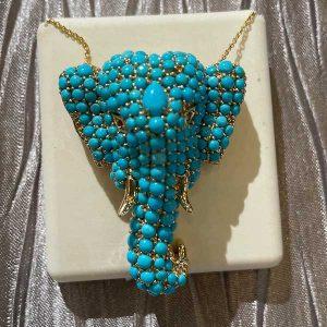Levian turquoise elephant