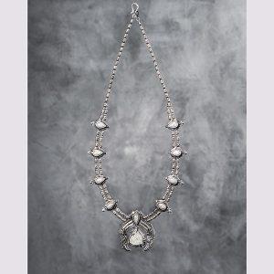 Maeve Gillies Superquarry Squash Blossom necklace