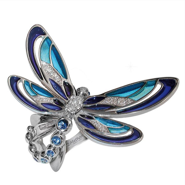 Mathon Paris Demoiselle ring