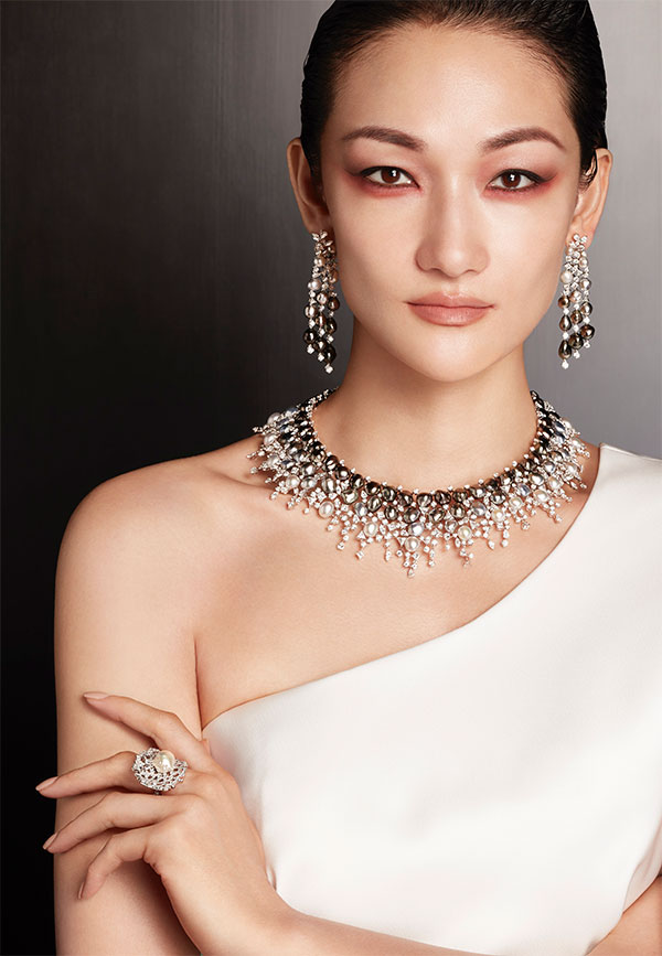 Mikimoto bokashi pearl suite