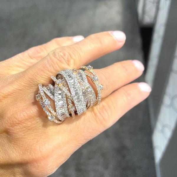 Miseno diamond ring