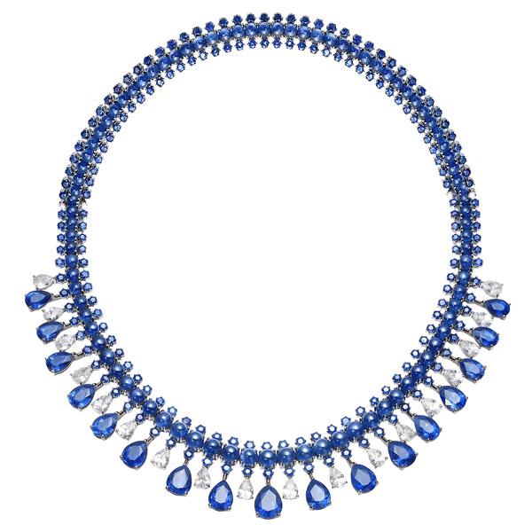 Nam Cho sapphire necklace
