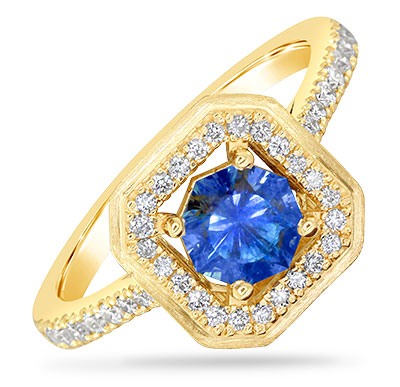 Parle sapphire ring